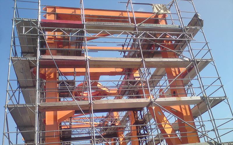Industriegerüst Hochbau