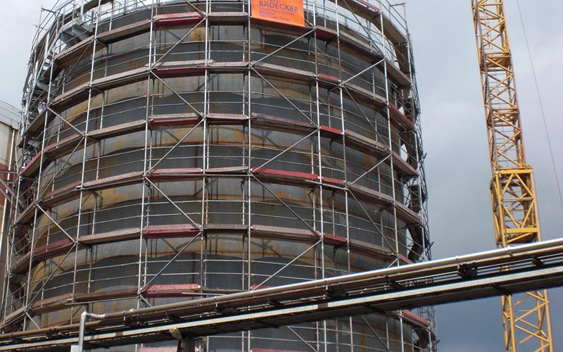 Industriegerüst Turm